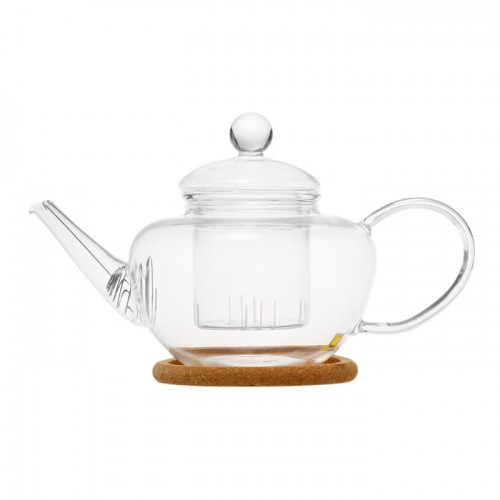 Стеклянный заварочный чайник Фикус, 500 мл от магазина Все чаи
