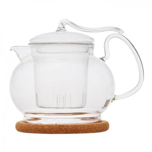 Стеклянный заварочный чайник Эдельвейс, 450 мл от магазина Все чаи
