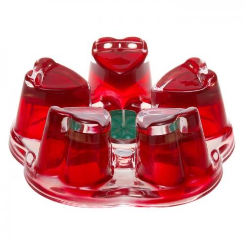 Подставка-подогреватель для чайника Агава красная от магазина Все чаи
