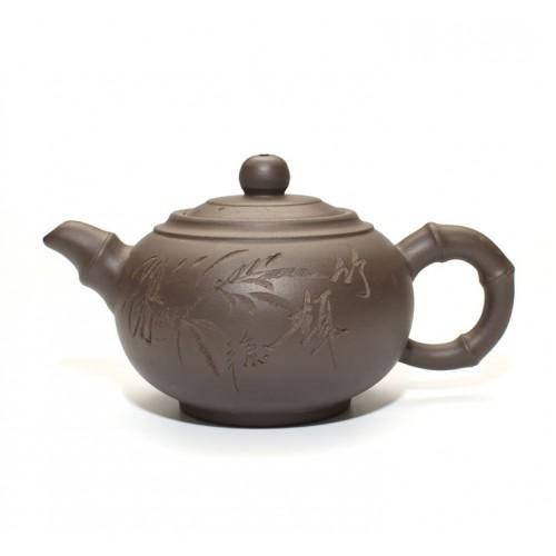 Глиняный чайник Бамбук, 350 мл от магазина Все чаи