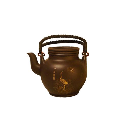 Глиняный чайник Журавль, 380 мл от магазина Все чаи