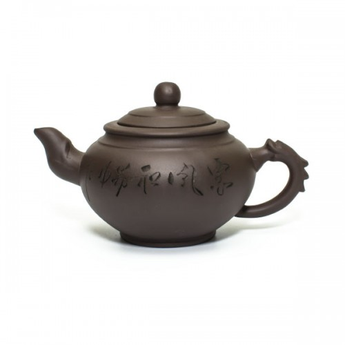 Глиняный чайник Зеленый бамбук, 350 мл от магазина Все чаи