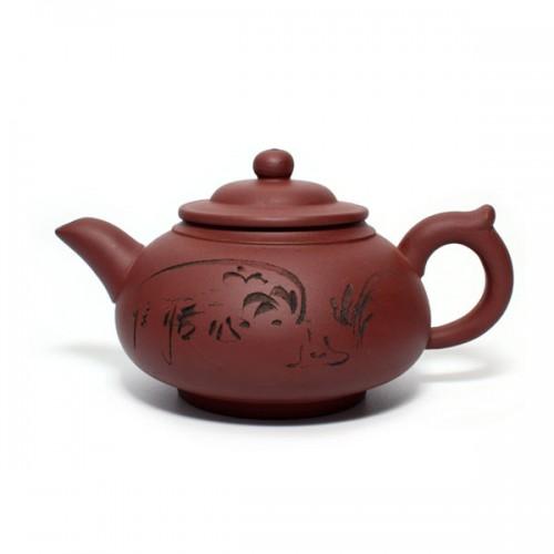 Глиняный чайник Поющий лес, 350 мл от магазина Все чаи