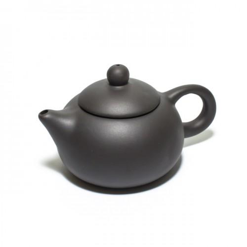 Глиняный чайник Хотей-1 черный, 130 мл от магазина Все чаи