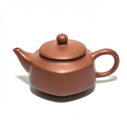 Глиняный чайник Хотей-2 светлый, 150 мл от магазина Все чаи