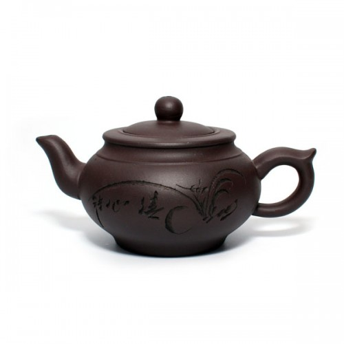 Глиняный чайник Чайный домик, 350 мл от магазина Все чаи