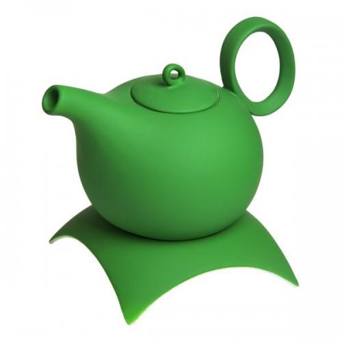 Чайник керамический на подставке Green Wave, 1000 мл от магазина Все чаи