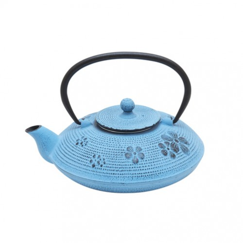 Чугунный чайник Фиалки, 800 мл. от магазина Все чаи