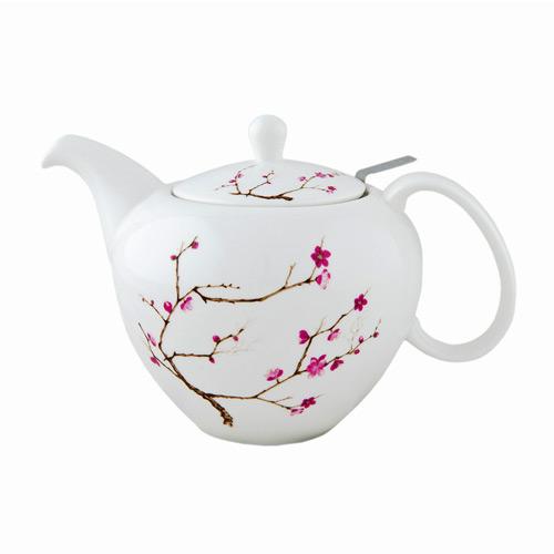 Заварочный чайник Цветущая сакура высокий, 1000 мл от магазина Все чаи