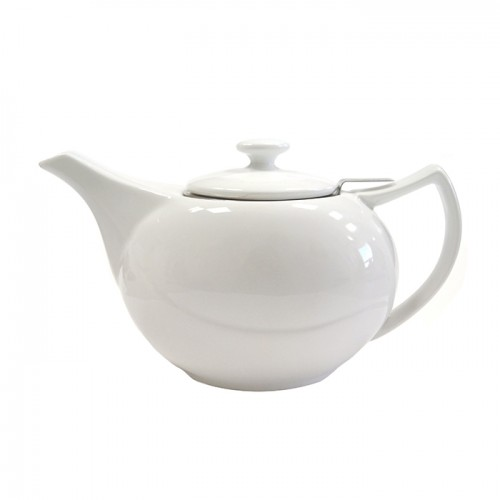 Фарфоровый заварочный чайник , 600 мл от магазина Все чаи