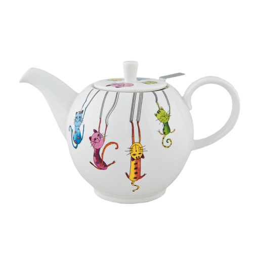Чайник фарфоровый Паркур, 1000 мл от магазина Все чаи