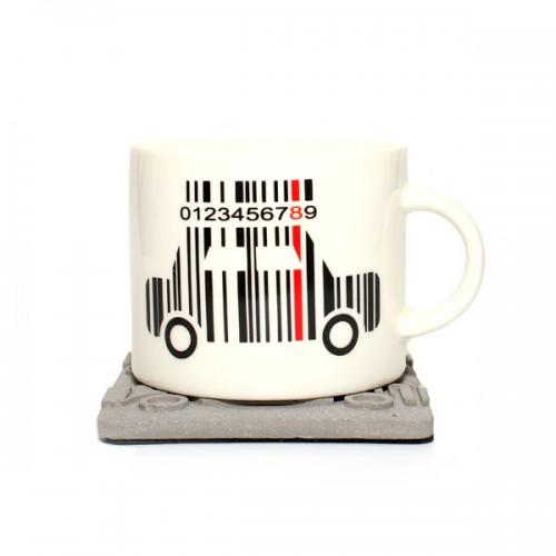 Керамическая кружка Car Code, 350 мл от магазина Все чаи