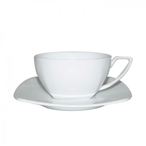 Набор фарфоровых чашек с блюдцем, 150 мл (6 шт.) от магазина Все чаи