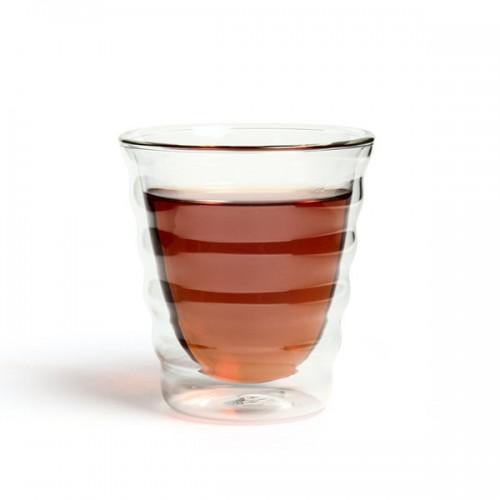 Необжигающая чашка из жаропрочного стекла с двойными стенками Тама, 180 мл от магазина Все чаи
