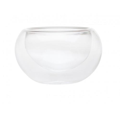Необжигающая чашка-термос Лилия малая из жаропрочного стекла 50 мл от магазина Все чаи