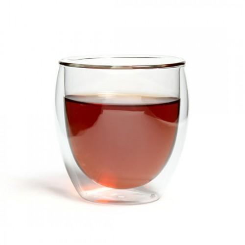 Необжигающий бокал из жаропрочного стекла с двойными стенками Киото, 200 мл от магазина Все чаи