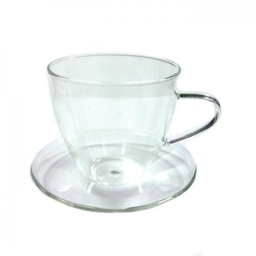 Чайная пара Стеклянный бутон 200 мл от магазина Все чаи