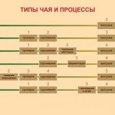 Оригинальный вкуса чая посредством различных популярных методов