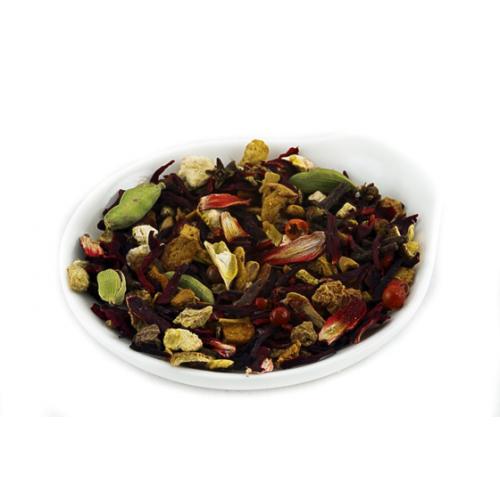 Фруктовый чай Глинтвейн от магазина Все чаи